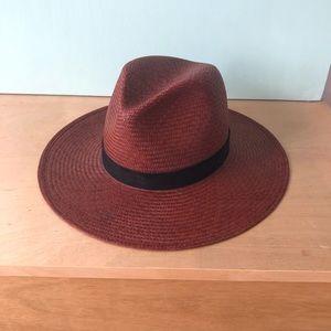 NWT Janessa Leone Karla straw hat